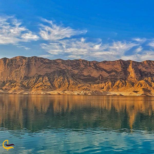 تصویری از کوه های دریاچه شهیون دزفول