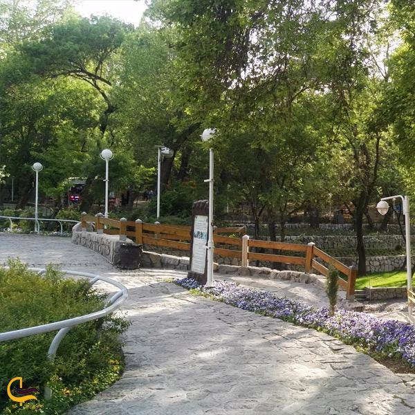 نمایی از پارک وکیل آباد مشهد