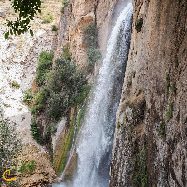 تصویری از آبشار زیبا روستای شاهاندشت آمل