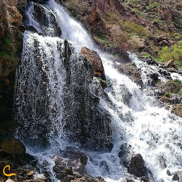 تصویری از آبشار نره گر اسبو خلخال