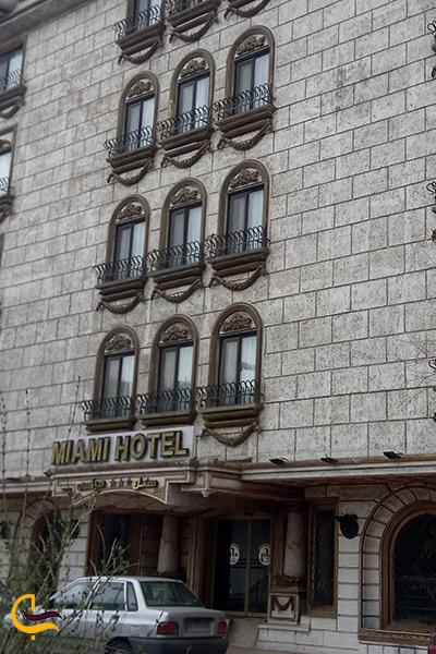 اقامت در هتل میامی مشهد