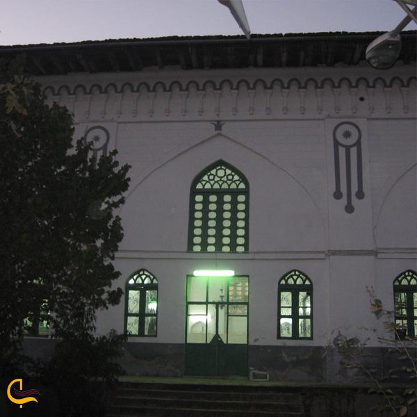 تصویری از مسجد اکبریه لاهیجان