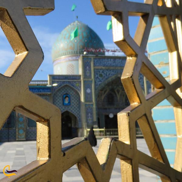 نمایی از آرامگاه سید جلال الدین اشرف
