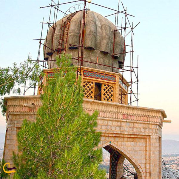نمایی از بابا کوهی شیراز