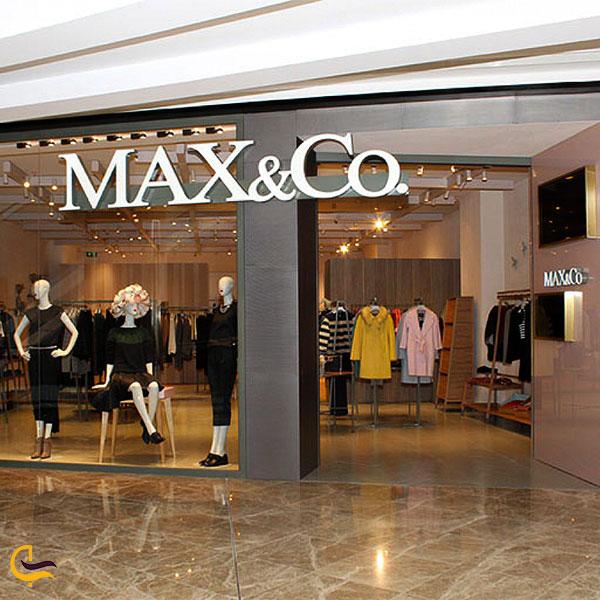 نمایی از لباس فروشی مرکز خرید پورت باکو