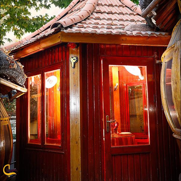 تصویر زیبا از آلاچیق های کافه سنتی های طرقبه مشهد