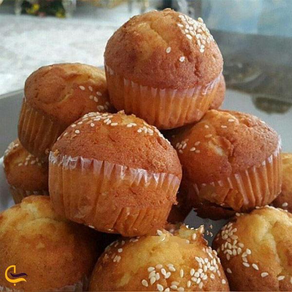 نمایی از کیک یزدی