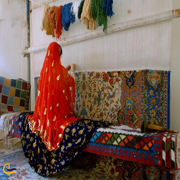 قالی بافی هنر دست مردم اردل