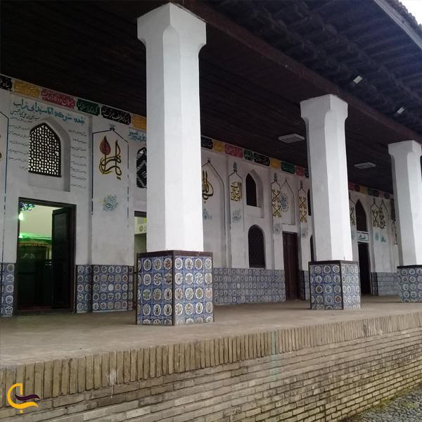 تصویری از مسجد چهار پادشاهان لاهیجان