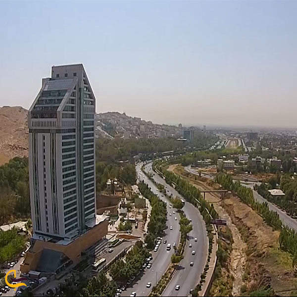 نمایی از هتل چمران شیراز
