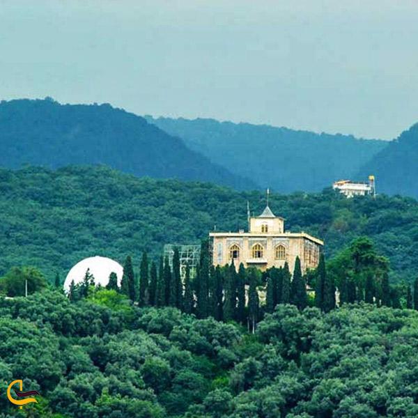 تصویری از کاخ صفی آباد بهشهر