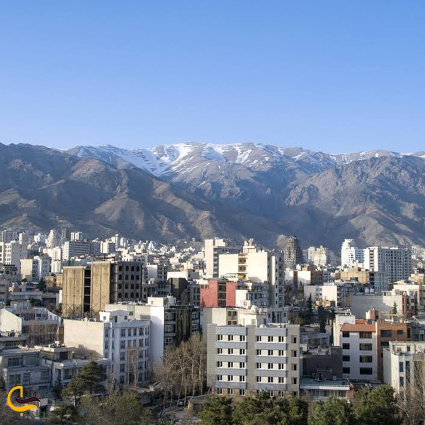 تصویری از منطقه درکه تهران