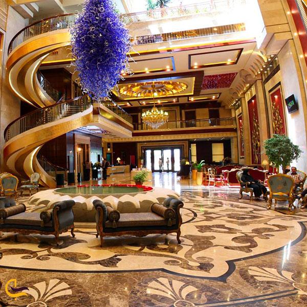 نمایی از هتل درویشی