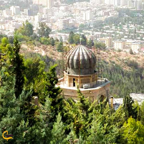 نمایی دورتربابا کوهی شیراز