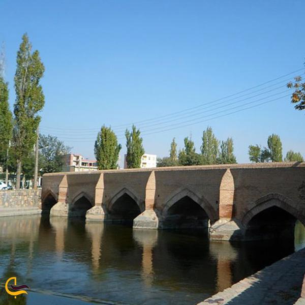 تصویری از پل پنج چشمه ماکو