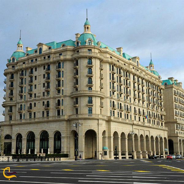 نمایی از هتل فورسیزن باکو