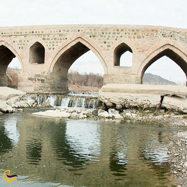 تصویری از پل تاریخی قلعه جوق ماکو