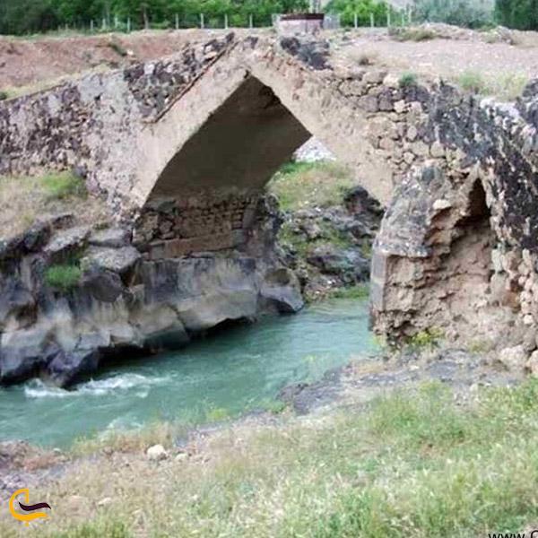 نمایی از طبیعت پل قره کورپو در ماکو
