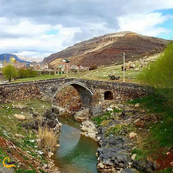 تصویری از پل تاریخی قره کورپو ماکو