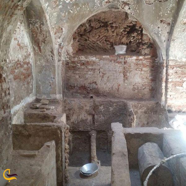 تصویری از حمام پیر شهید شیروان