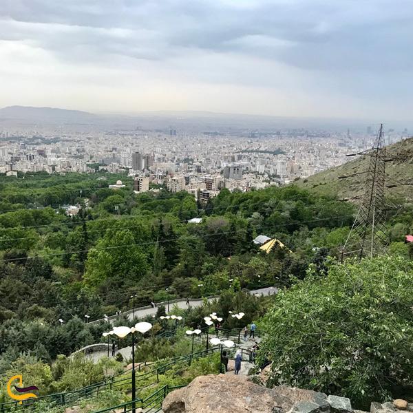 تصویری از منطقه زیبا پارک جمشیدیه تهران