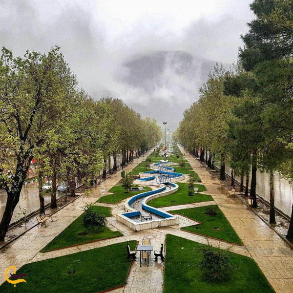 تصویری از پارک کوهستان کرمانشاه