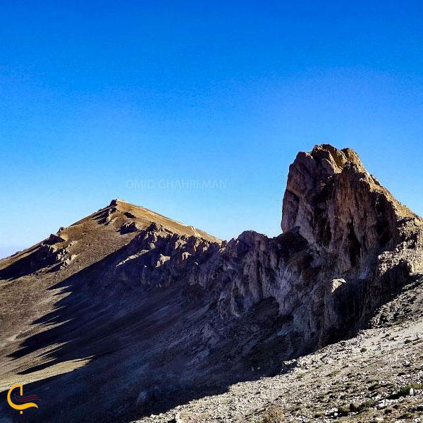تصویری از کوه مورس