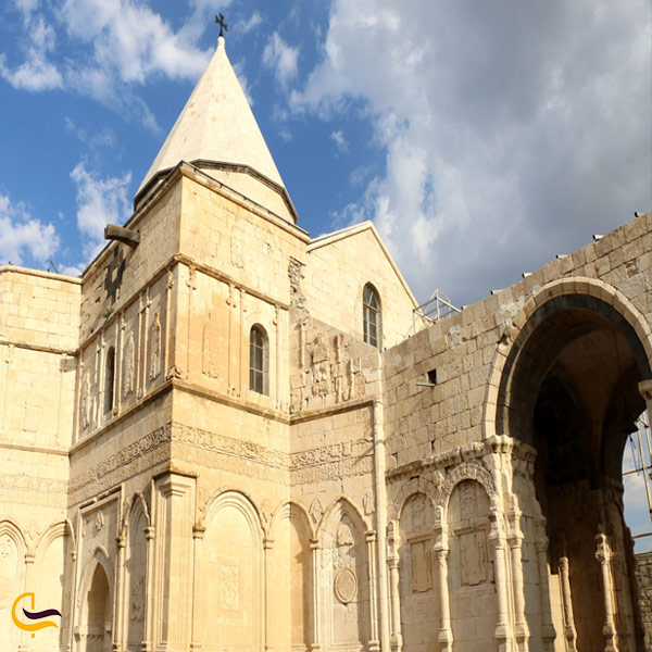 تصویری از کلیسای تادئوس مقدس