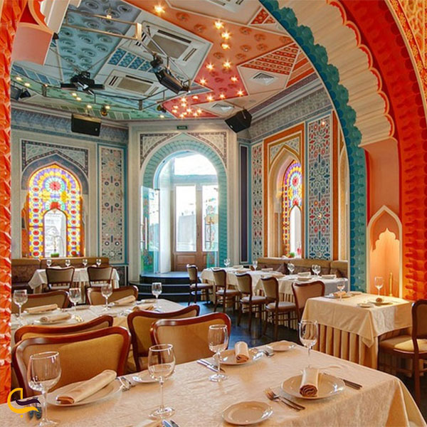 نمایی از رستوران موویدا