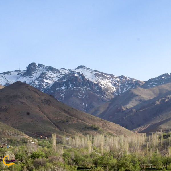 تصویری از کوه پناس روستای نقوسان