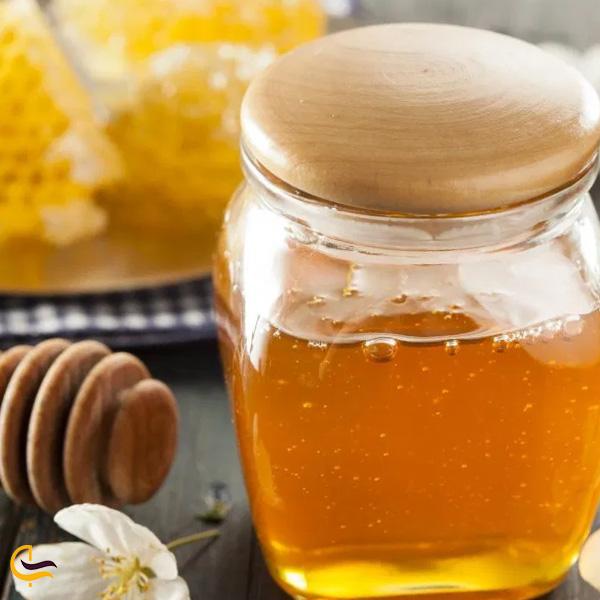 تصویری از عسل طبیعی سوغات جاده اسالم به خلخال