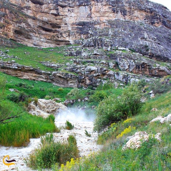 نمایی از طبیعت و رودخانه سو دره سی