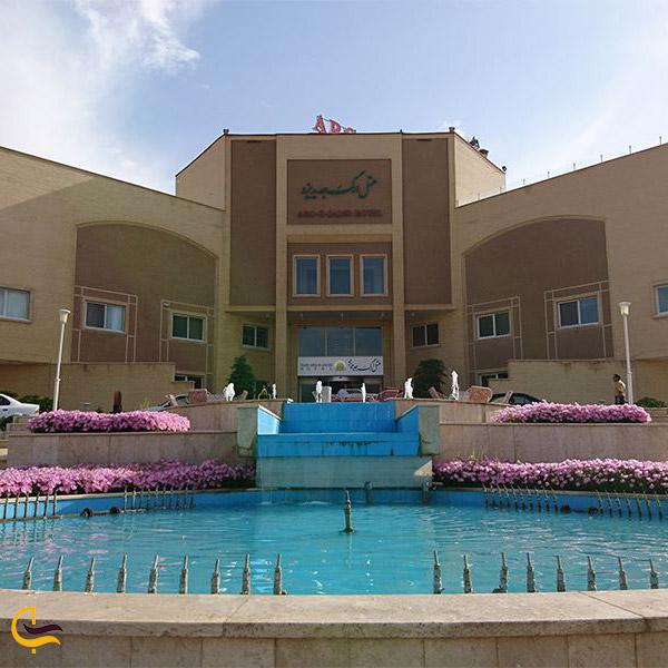 نمایی از هتل ارگ جدید یزد