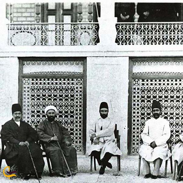 تصویر قدیمی باغ عفیف آباد شیراز