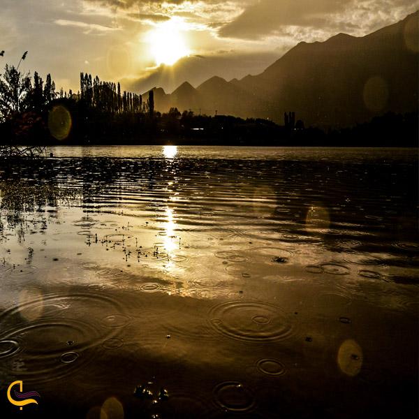 تصویری از دریاچه اوان قزوین