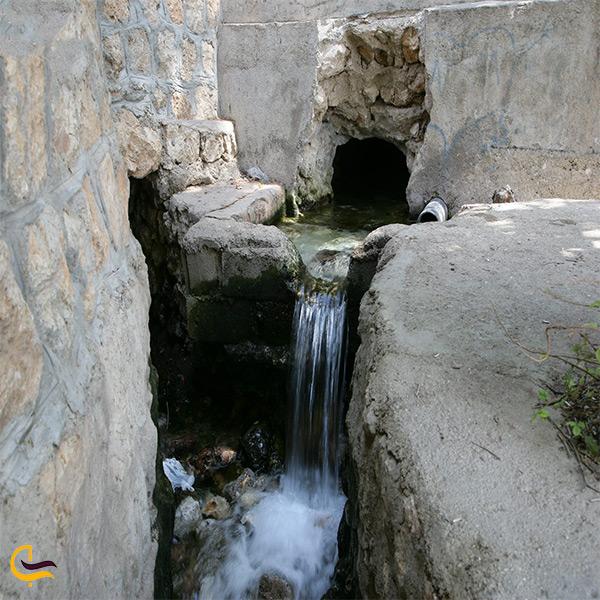 تصویر چشمه مولا در روستای آلیکوه