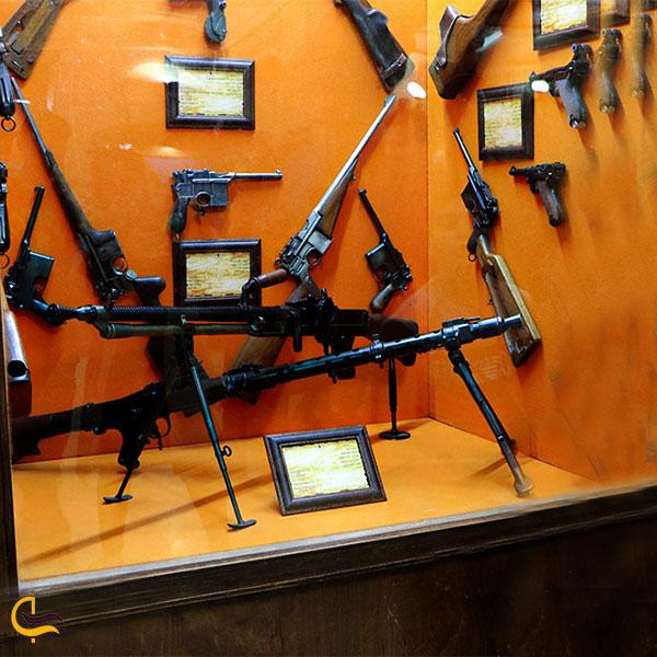 نمایی از تفنگهای متعلق به فتحعلی شاه قاجار