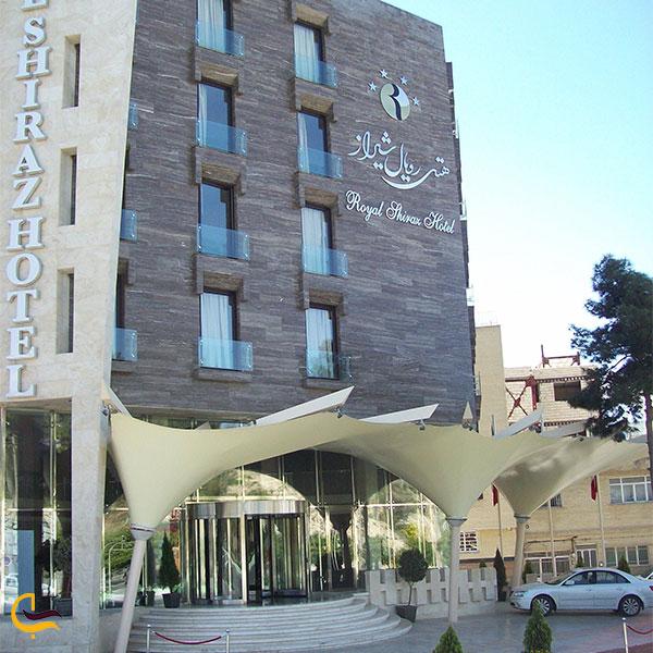 نمایی از هتل رویال شیراز
