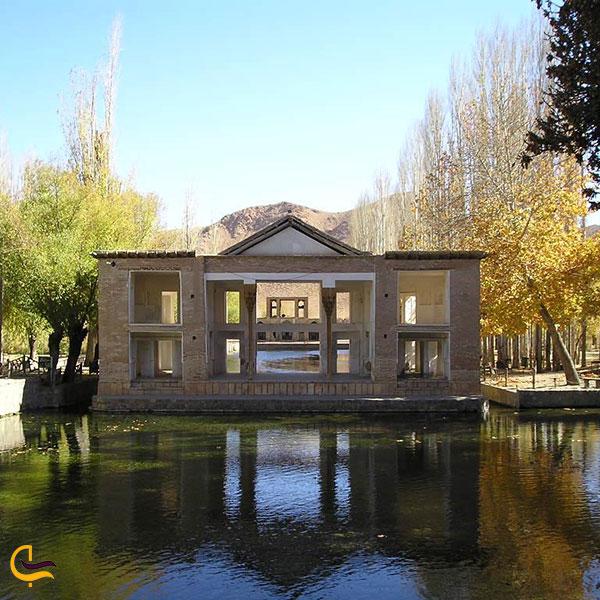 نمایی ازعمارت شاهی مجموعه عمارت چشمه علی