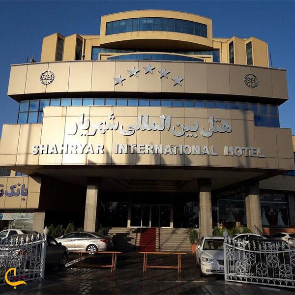 نمایی از هتل شهریار تبریز