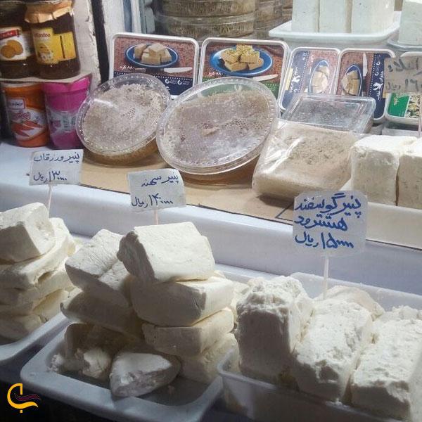 نمایی از پنیر و لبنیات تبریز