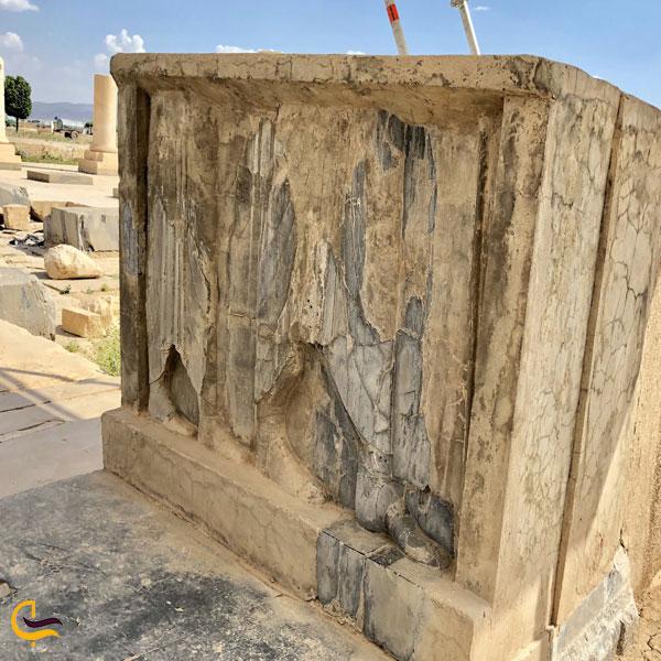 تصویری از بنای تاریخی کاخ اختصاصی پاسارگاد