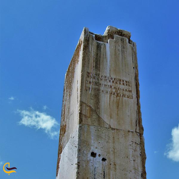 نمایی از آثار تاریخی پاسارگاد