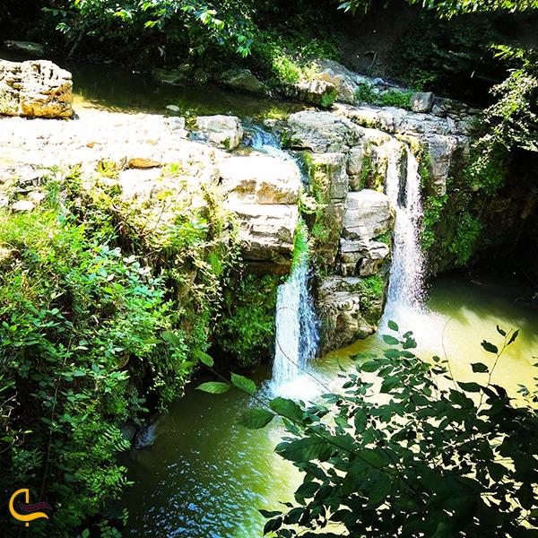 طبیعت زیبای آبشار درازکش