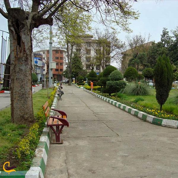 نمایی ازبهترین مسیر دسترسی به میدان شهرداری