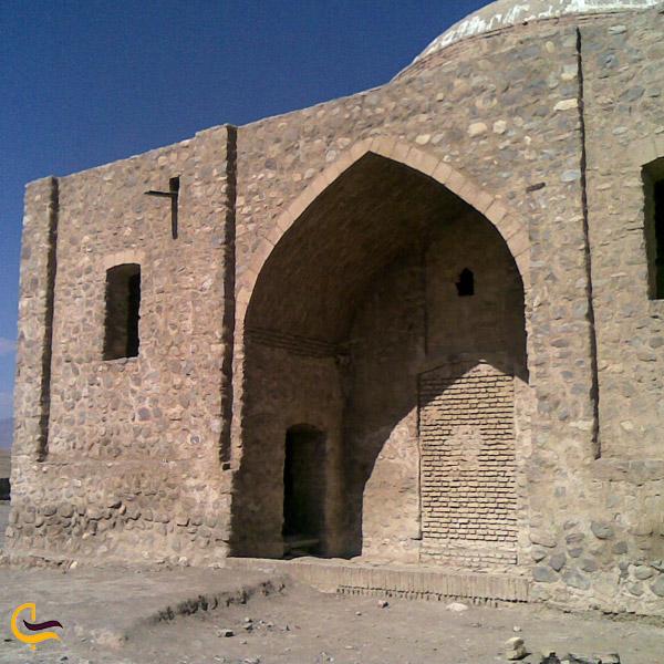 تصویری از بقعه خشتی حضرت سلطان