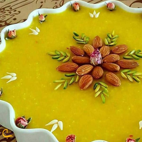 تصویری از غذای محلی دیگچه مشهدی