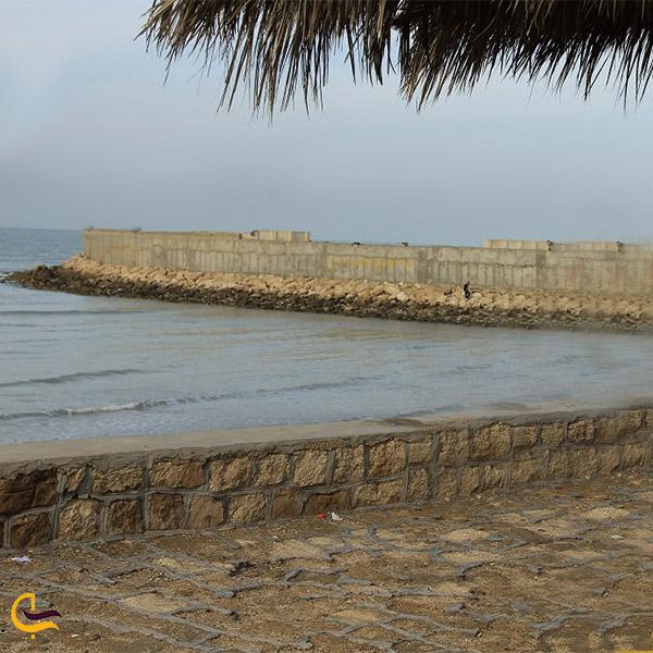 نمایی از ساحل لیان