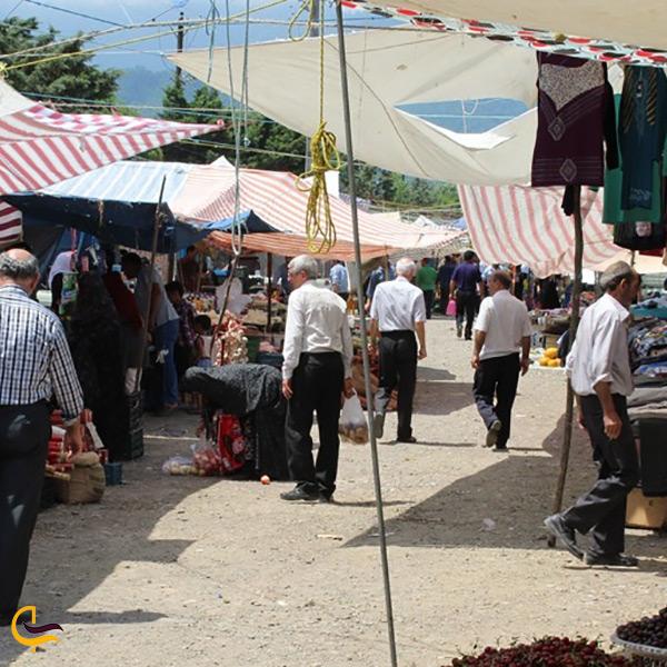 بازدید از بازار محلی روستای سوباتان