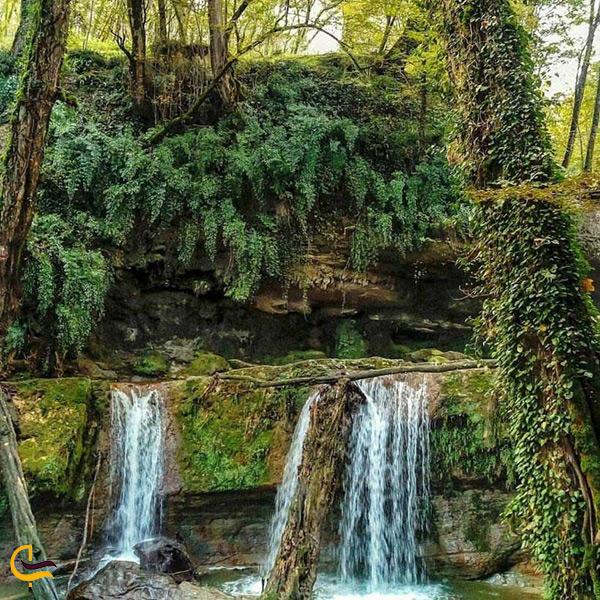 بازدید از هفت آبشار تیرکن بابل